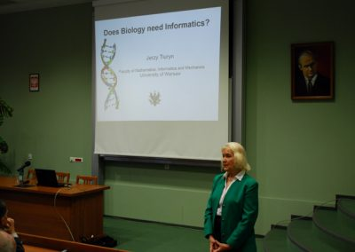 """Wykład prof. Jerzy Tiuryn """"Czy biologia potrzebuje informatyki?"""""""