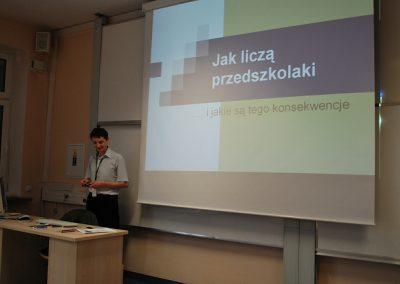 """Wykład otwarty pt. """"Jak liczą przedszkolaki"""" - dr Andrzej Jasiński"""