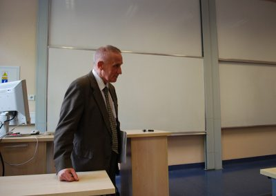 """Wykład pt. """"Cantor o Dedekindzie, Kroneckerze i o samym sobie"""" - prof. dr hab. Jerzy Mioduszewski"""