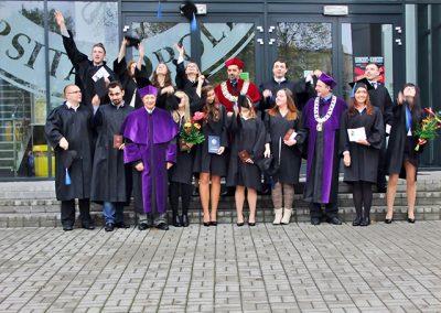 Uroczyste wręczenie dyplomów ukończenia studiów 2015