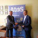 Podpisanie umowy z firmą ATOS