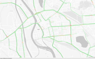 Studenci Instytutu Informatyki badają natężenie ruchu ulicznego w Opolu.