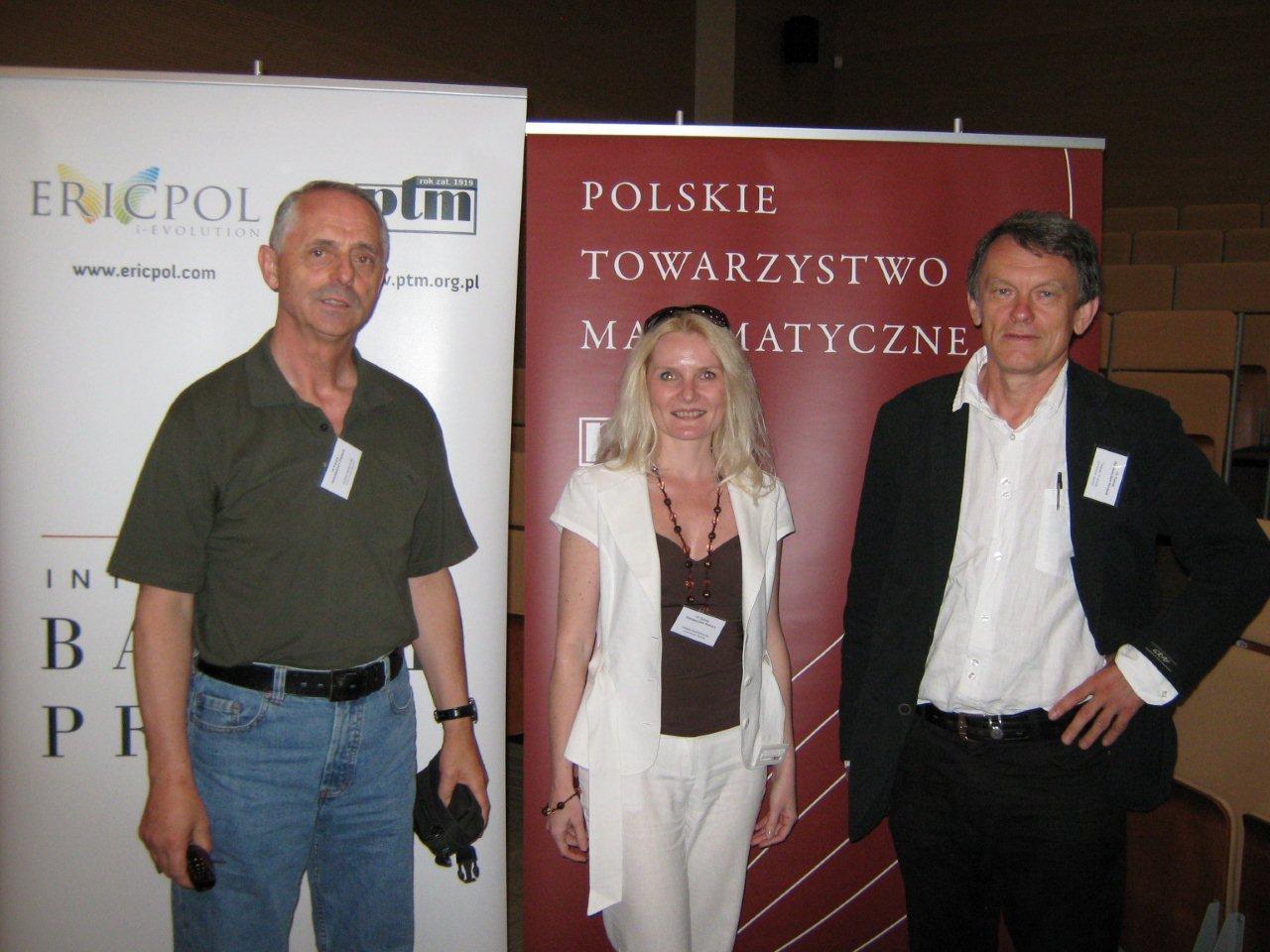 2010-07-01  IV Forum Matematyków Polskich, Olsztyn.