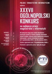 Plakat XXXVII KPM