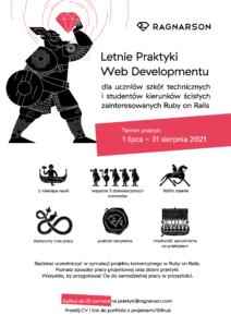Ragnarson Letnie Praktyki Web Developmentu A4