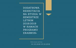 Rekrutacjalato2018 2019Erasmus