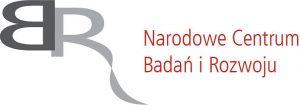 ncbr logo z czerwonym napisem