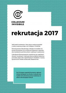 plakat collegium invisible